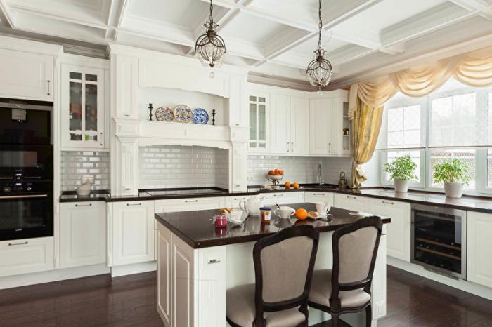 Дизайн и стиль угловых кухонь