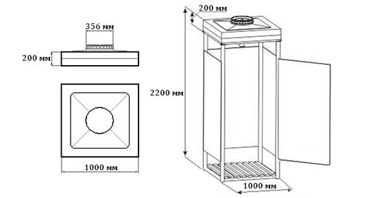 Как быстро сделать самый простой душ на даче своими руками