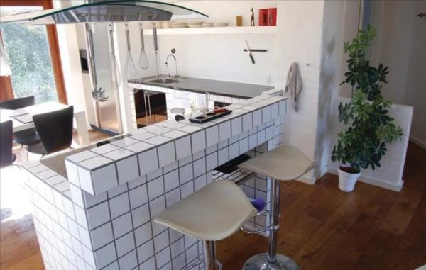 Дизайн угловой кухни с барной стойкой: лучшие идеи с фото