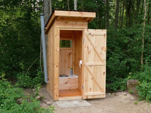 Как сделать дачный туалет своими руками