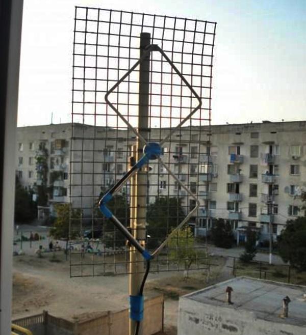 Как сделать антенну Харченко для цифрового ТВ