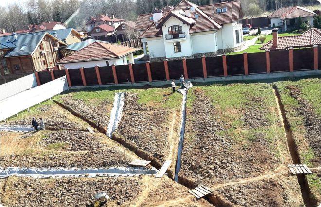 Выравнивание участка на даче