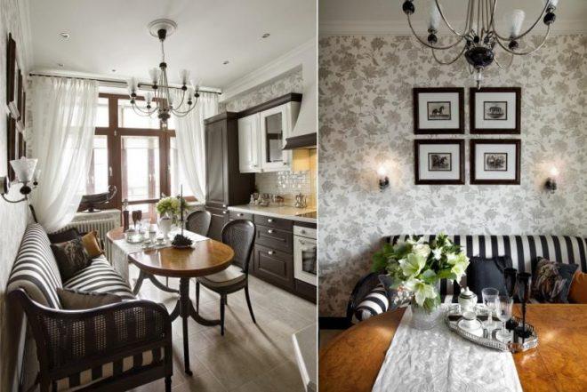 Дизайн кухни на 10 кв. м