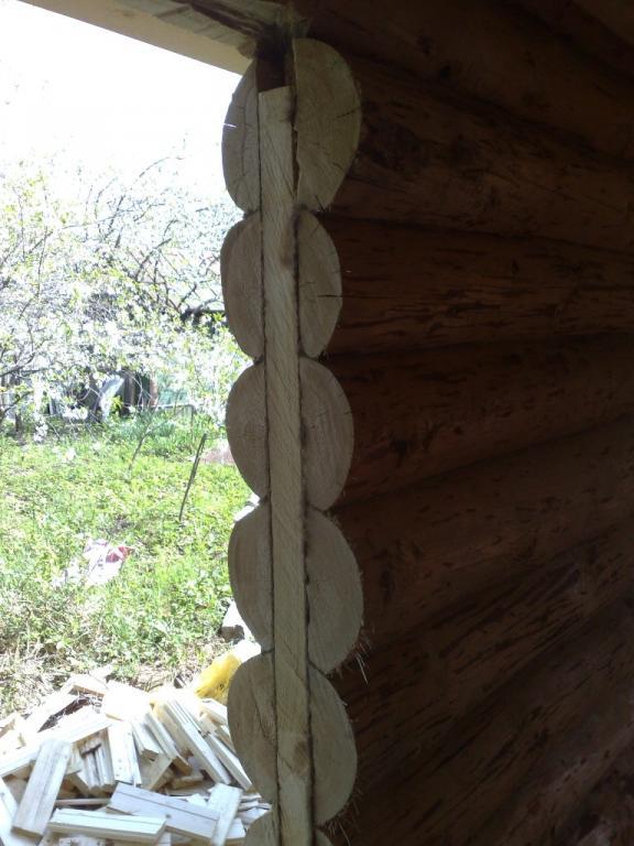 Самостоятельная установка деревянных окон в деревянном доме