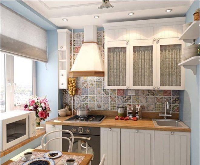 Оформление кухни 6 кв.: советы и идеи