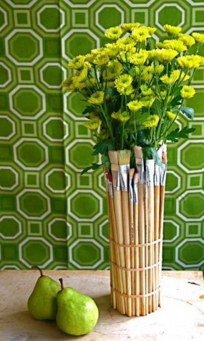 0e15192585a5c023909154542f3a051f Как сделать вазу из банки своими руками: 6 способов и 50 фото