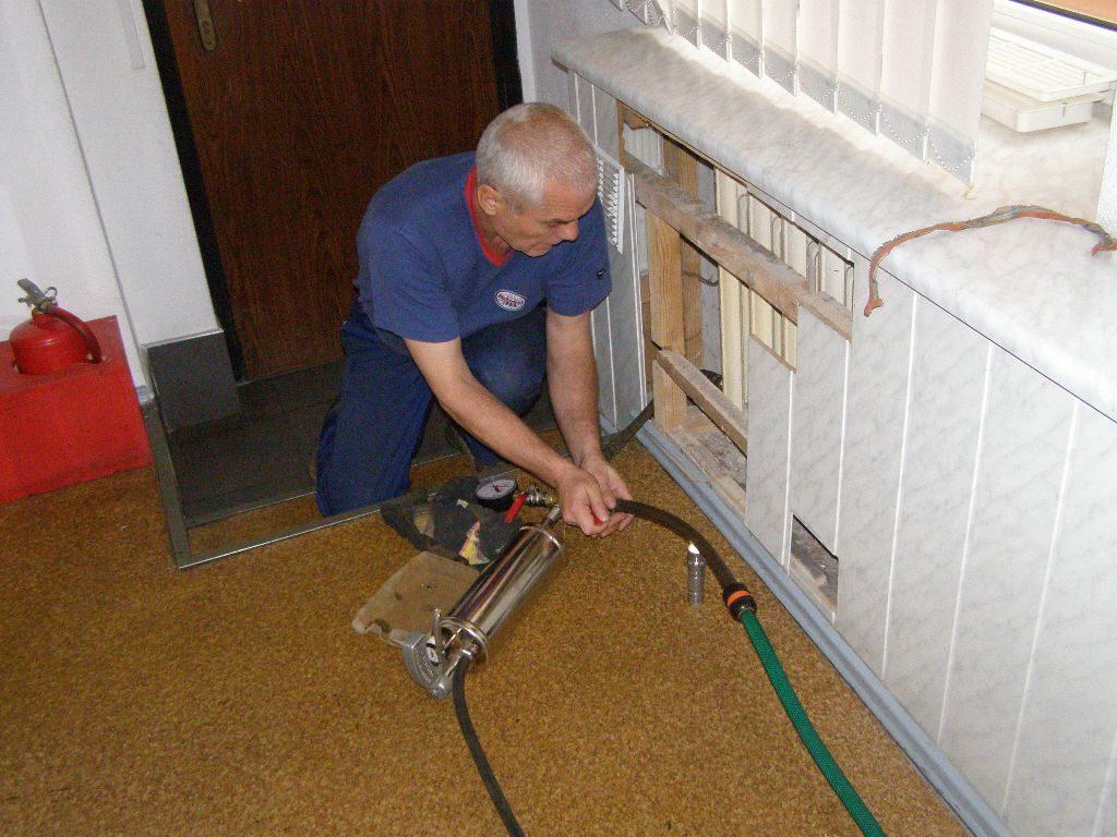 Промывка системы отопления в частном доме