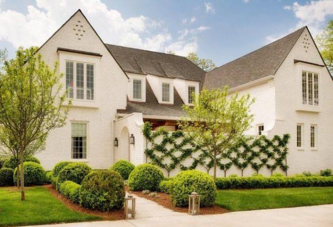 Идеи фасадов для двухэтажного дома