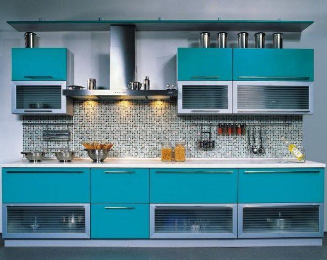Идеи прямых кухонь 4 м