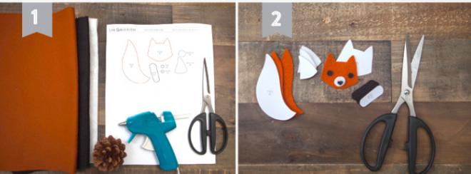Стильные и быстрые поделки из шишек: 6 идей