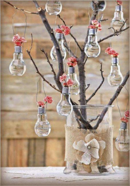 c5d8507708d47307c5887f1e7478d321 Как сделать вазу из банки своими руками: 6 способов и 50 фото