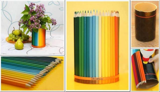 dab302e02ad624237b0bfe25bdd3a41f Как сделать вазу из банки своими руками: 6 способов и 50 фото