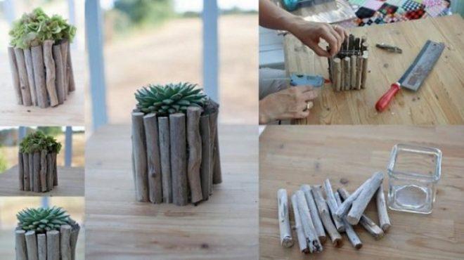 decorate-your-plain-glass-5 Как сделать вазу из банки своими руками: 6 способов и 50 фото