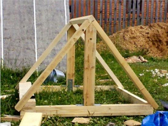 Как сделать домик для колодца