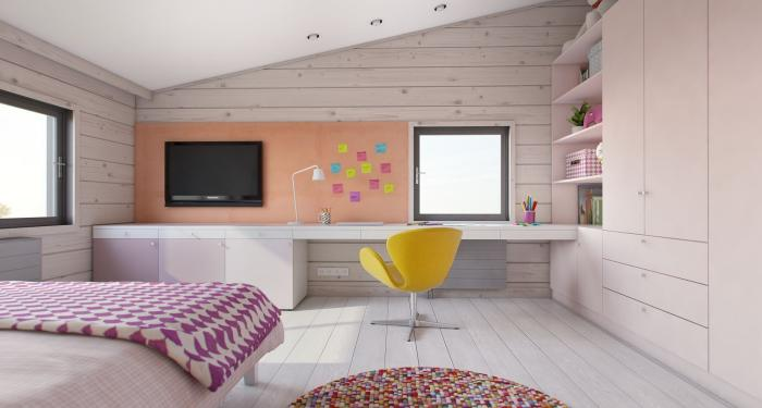 Комната для девочки-подростка