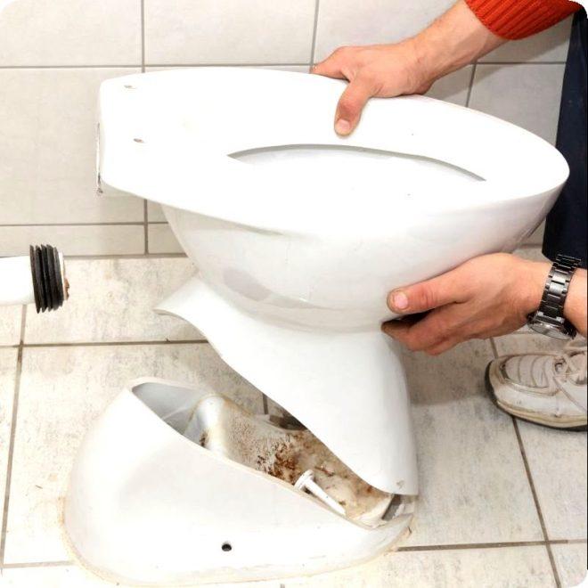 Как почистить унитаз от мочевого камня