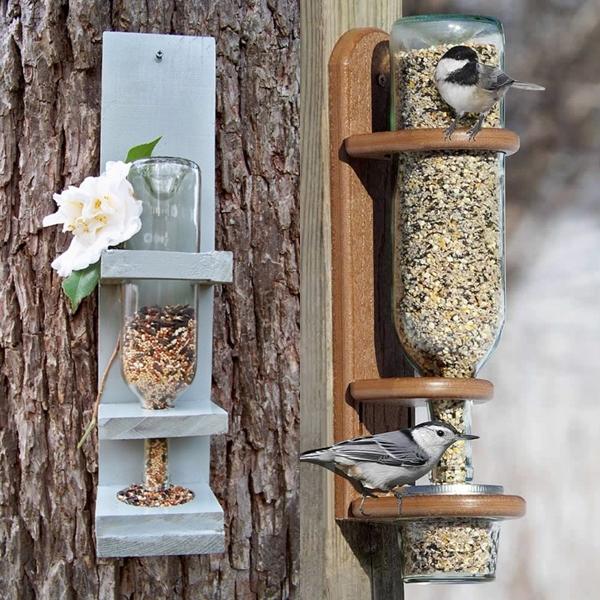 Лучшие кормушки для птиц своими руками