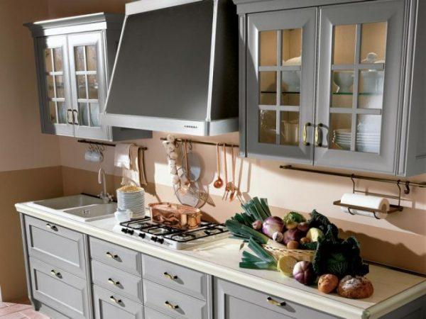 Дизайн кухни 5,5 кв м с холодильником