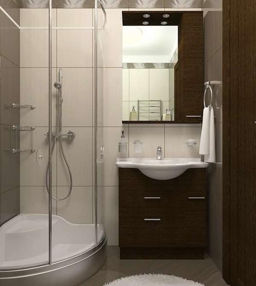 Интерьер ванной 2 кв. м: лучшие идеи