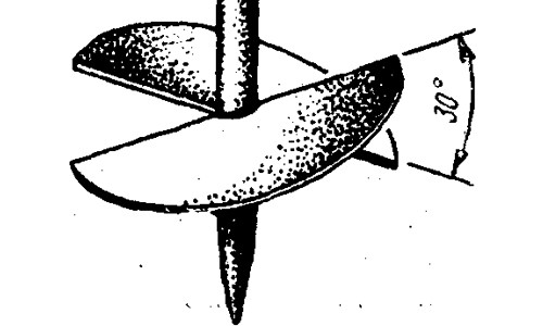 Самодельный бур для бурения ям под столбы