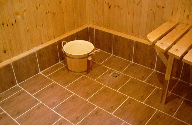 Как правильно сделать пол в бане