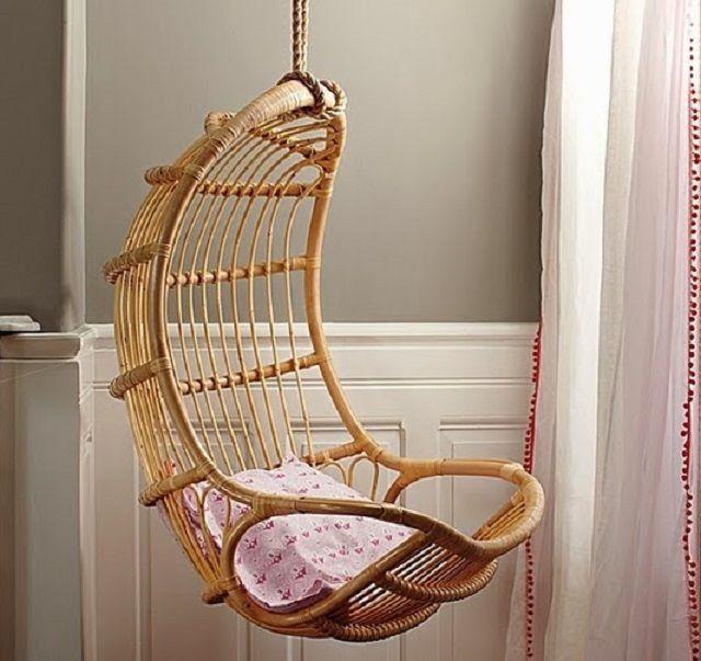 Как сделать подвесное кресло
