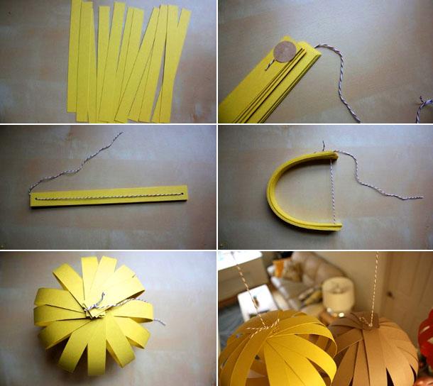 Как делать бумажные фонарики
