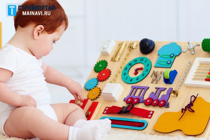 Как сделать бизиборд для мальчика
