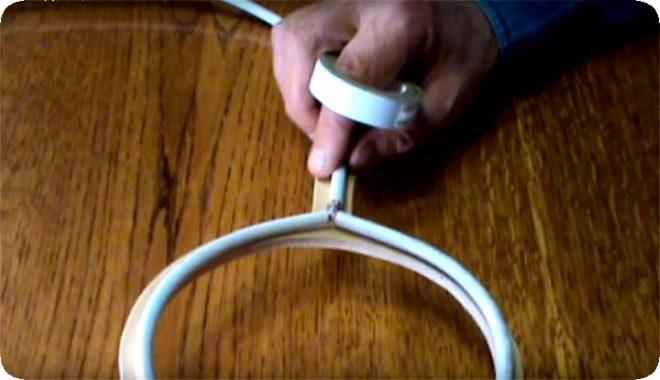 Антенна из кабеля для цифрового ТВ