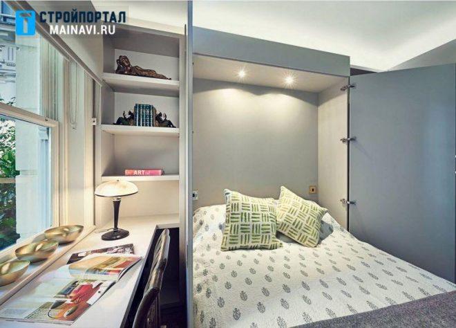 Дизайн маленьких спален 9 кв.м