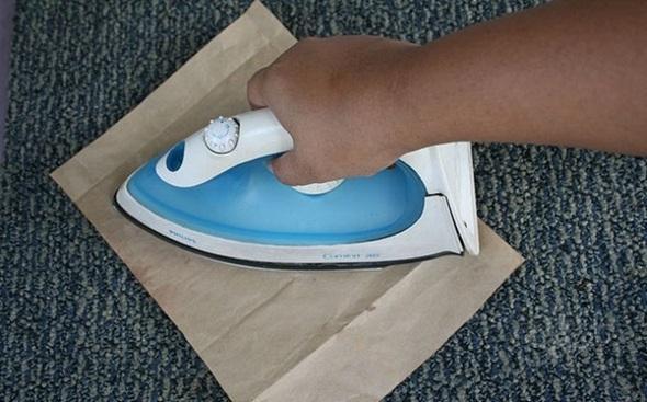 Как почистить ковер