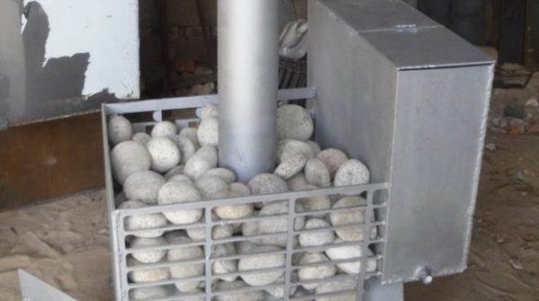 Как сделать банную печь из трубы