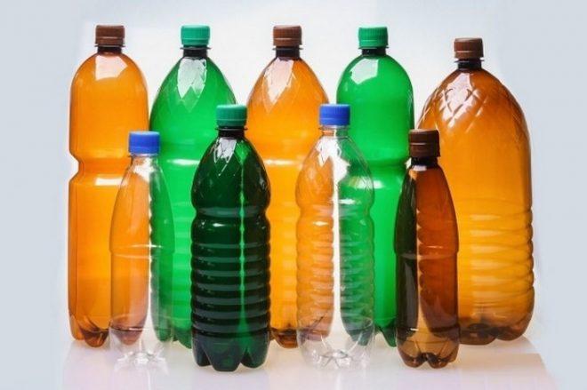 Как сделать павлин из пластиковых бутылок