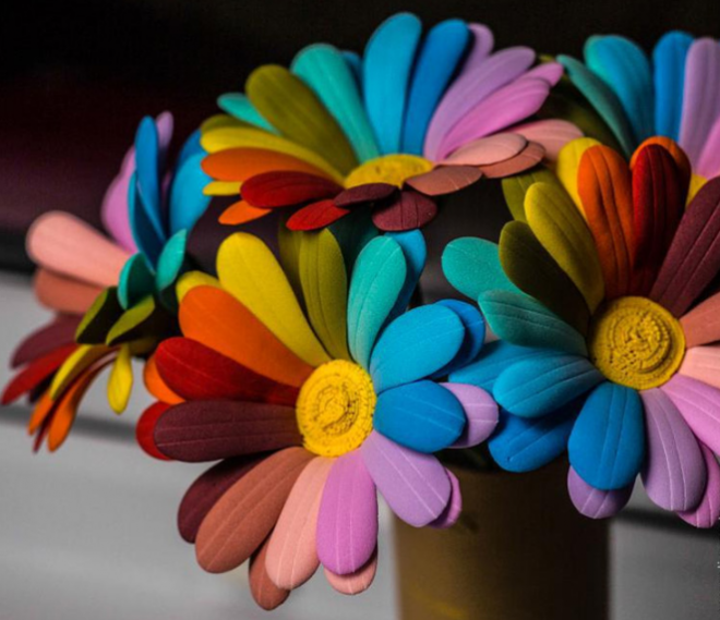 Как сделать цветы из фоамирана