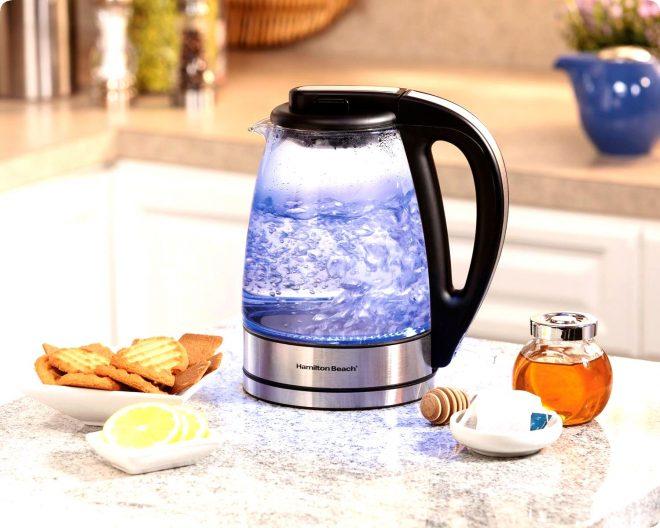 Чистка чайника от накипи дома
