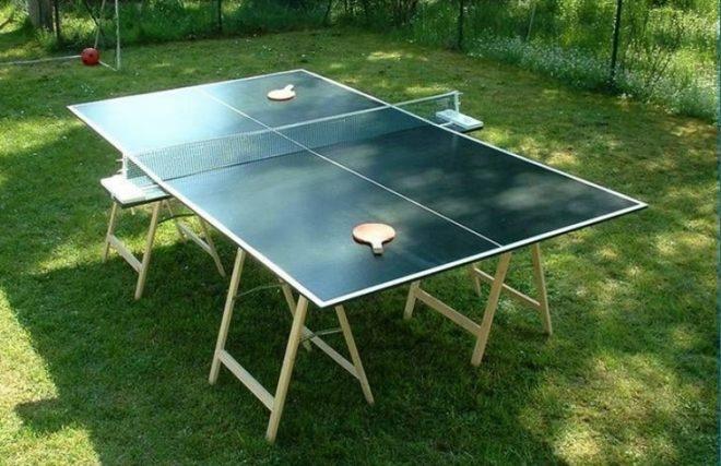 Теннисный стол своими руками