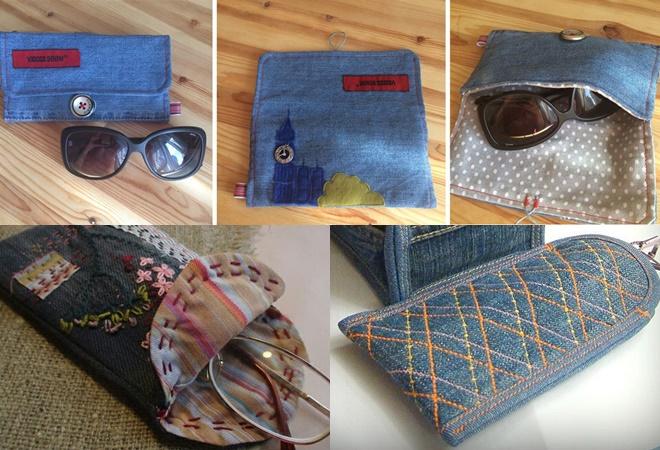 Что сделать из старых джинсов