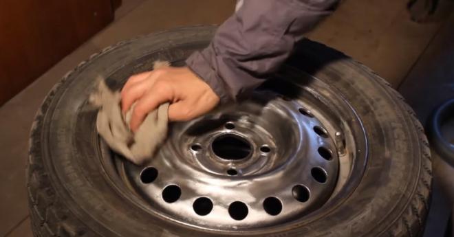 Как покрасить диски своими руками