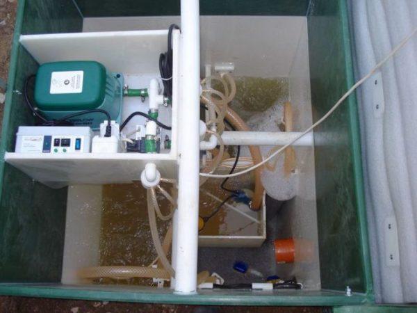 Септик «Юнилос Астра», схема работы канализации для дачи и дома