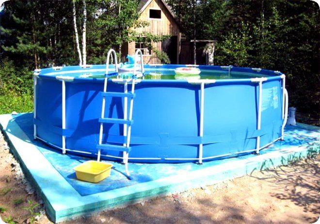 смотреть как устанавливают бассейн видео - 7