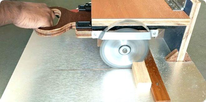 Самодельная циркулярная пила из подручных материалов – все способы