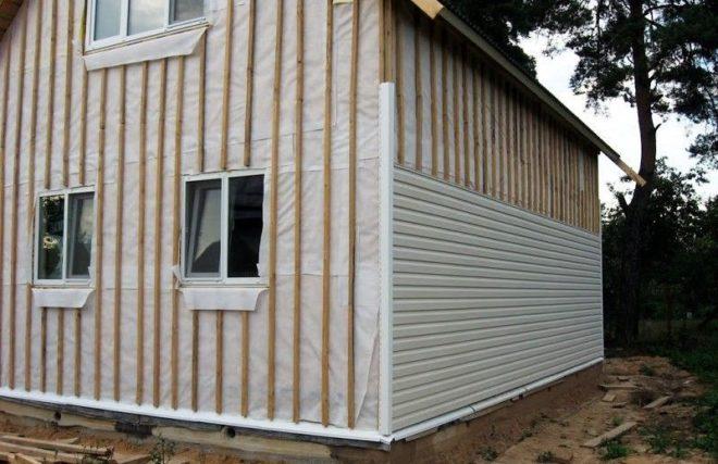 Утепление деревянного дома минватой под сайдинг