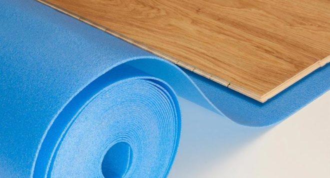 Выбираем подложку под ламинат – особенности лучших материалов