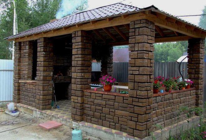 Идеи дизайна садовой беседки - на зависть соседям