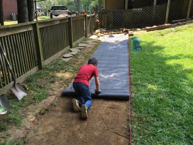 садовые дорожки из рубероида фото включают себя