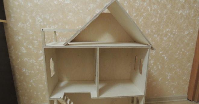 Кукольный домик из фанеры своими руками