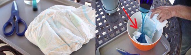 Используем памперсы в огороде - Дом