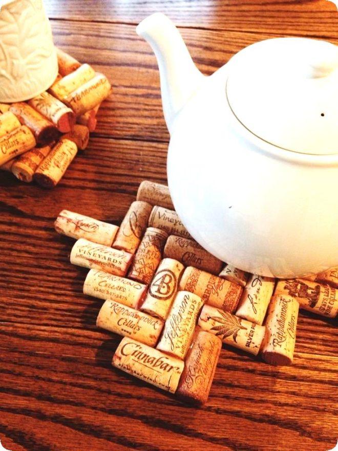 Крутые идеи поделок из винных пробок – мастер-классы