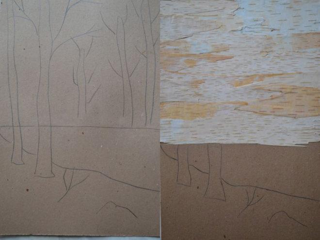 Как сделать картины из лепестков и листьев своими руками