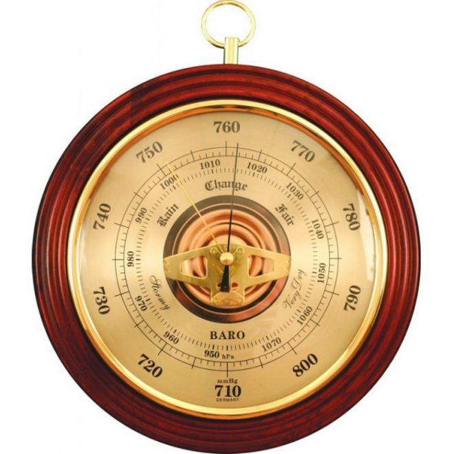 Самодельный барометр для рыбалки - мастер-класс